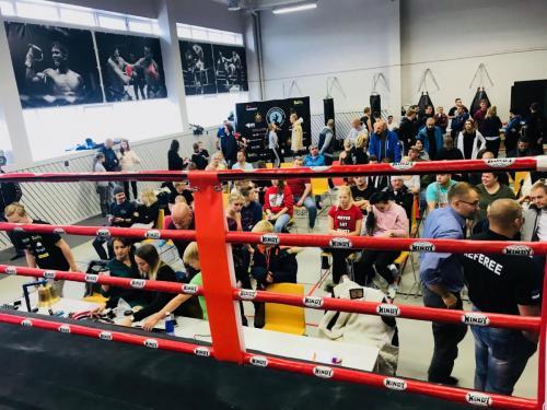 Eesti Muay Thai liiga 06.10.2018 (18/19 hooaja I etapp)
